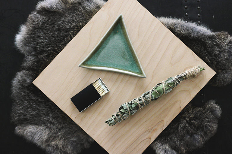 DIY Smudge Stick for @poppytalk by @themerrythought