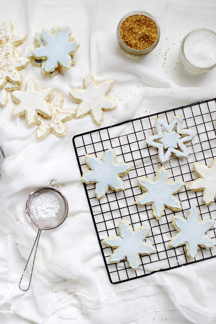 Sugar Cookies with Royal Icing @themerrythought
