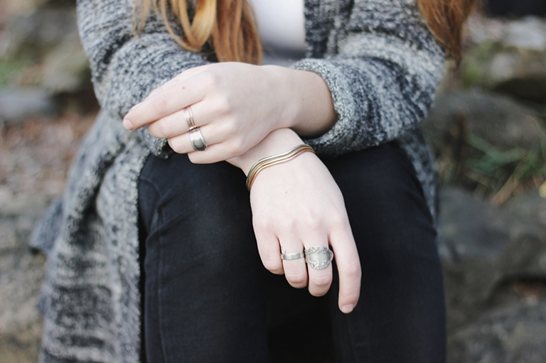 DIY Spoon Ring @themerrythought