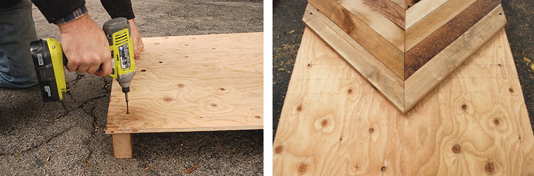 DIY Pallet Coffee Table The Merrythought - Wooden table tops cut to size