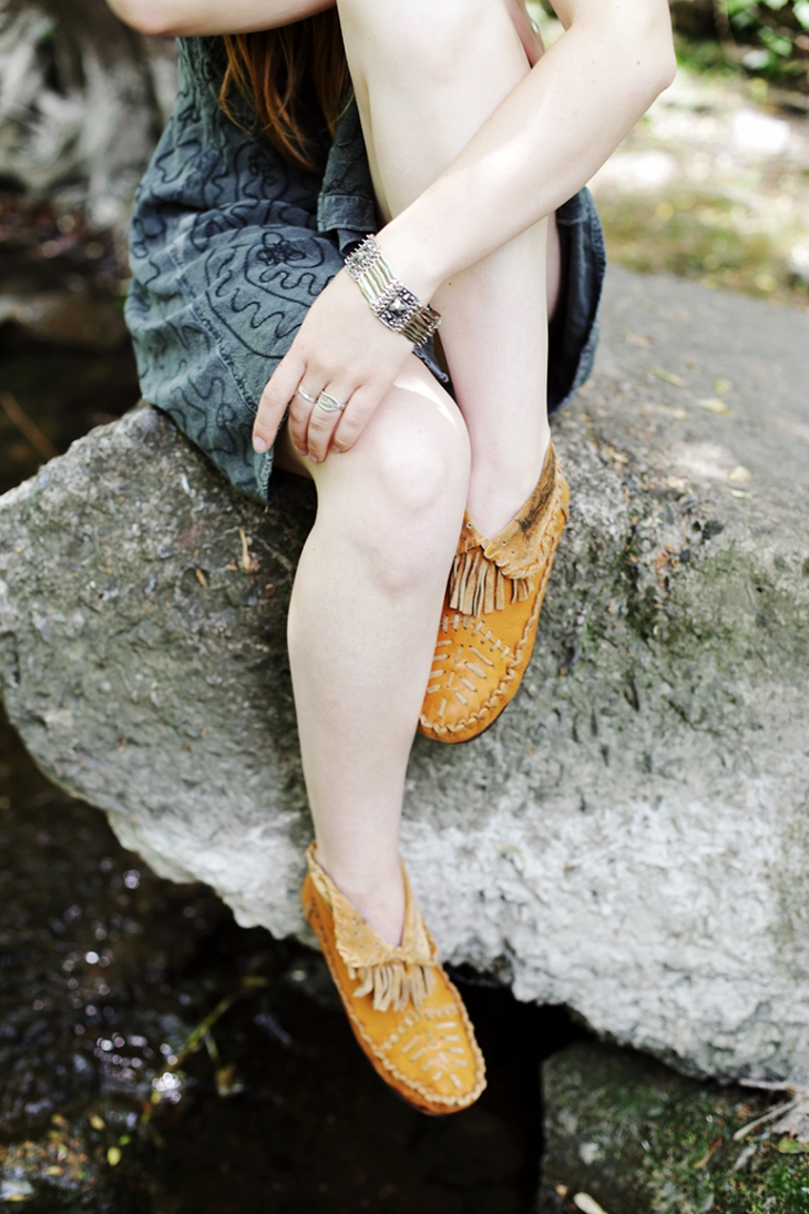 Vintage Moccasins Summer Style @themerrythought