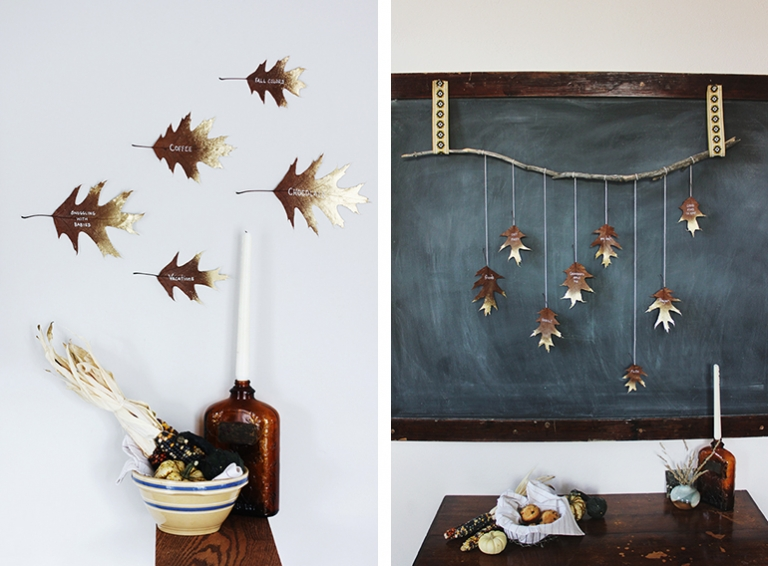 Thankful Leaf Garlands @themerrythought