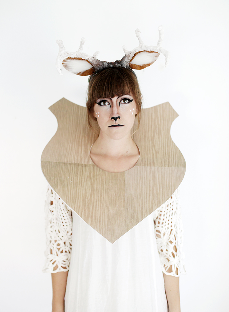 DIY Taxidermy Deer Costume @themerrythought  sc 1 st  The Merrythought & DIY Taxidermy Deer Costume - The Merrythought