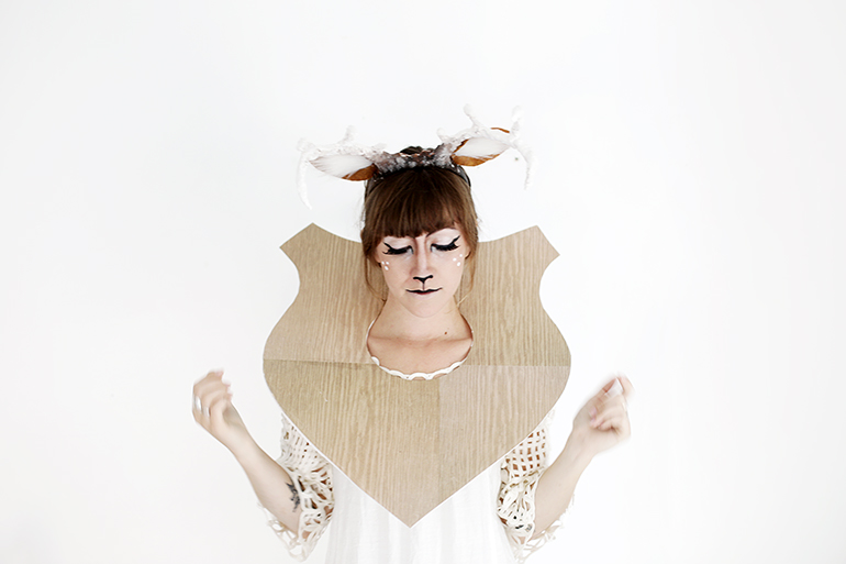 DIY Taxidermy Deer Costume » The Merrythought