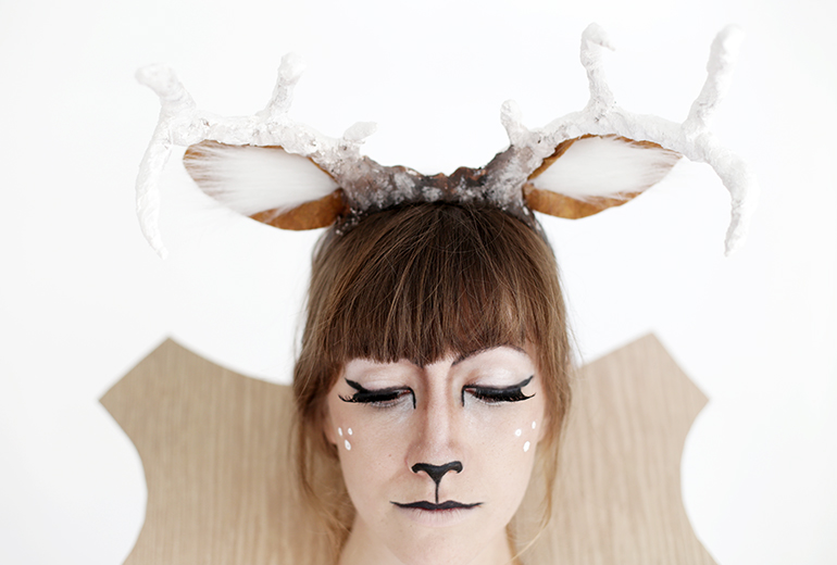 Diy Taxidermy Deer Costume The