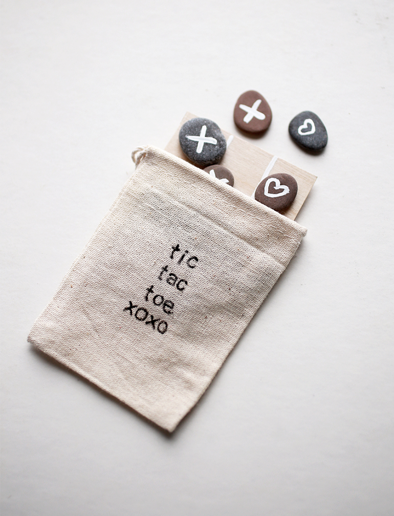 Tic Tac Toe Valentine @themerrythought