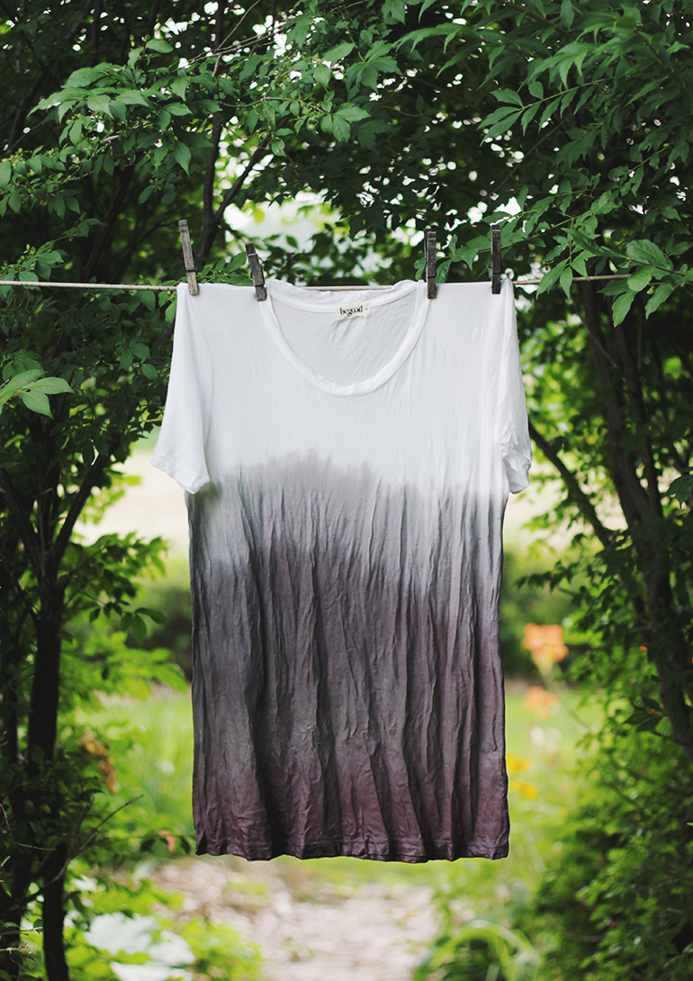 Natural Dye with Blackberries @themerrythought