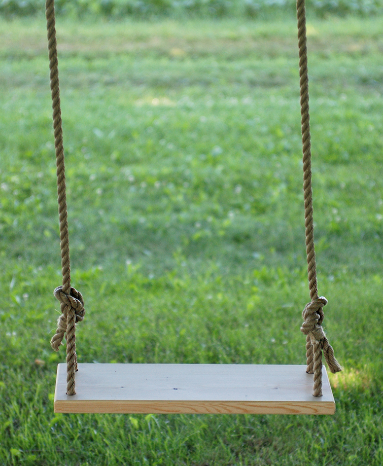 Diy Tree Swing The Merrythought