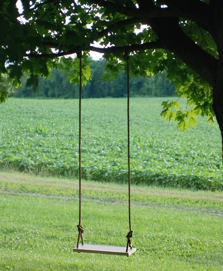 Diy tree swing the merrythought for How to build a swing set for adults