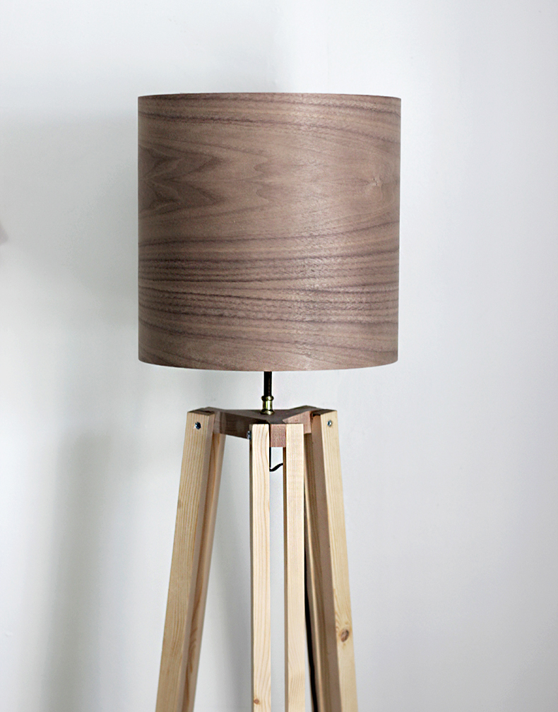 DIY Tripod Floor Lamp » The Merrythought for Homemade Floor Lamps  111bof