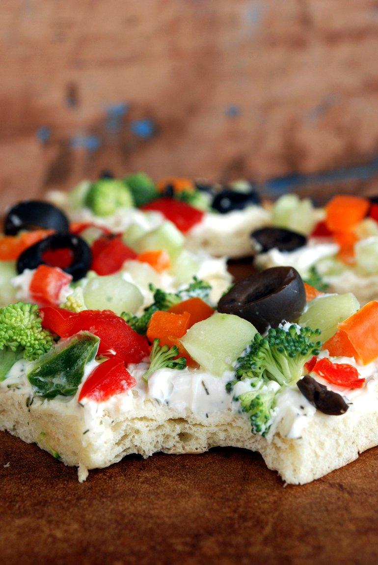 Veggie Pizza Appetizer