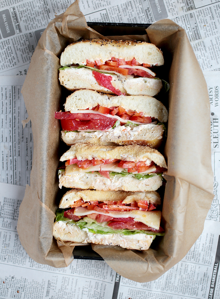 on a bagel sandwich kick now and want to try all sorts of ...