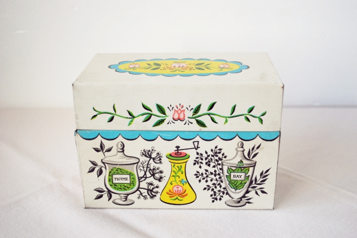 Vintage Recipe Box - The Merrythought