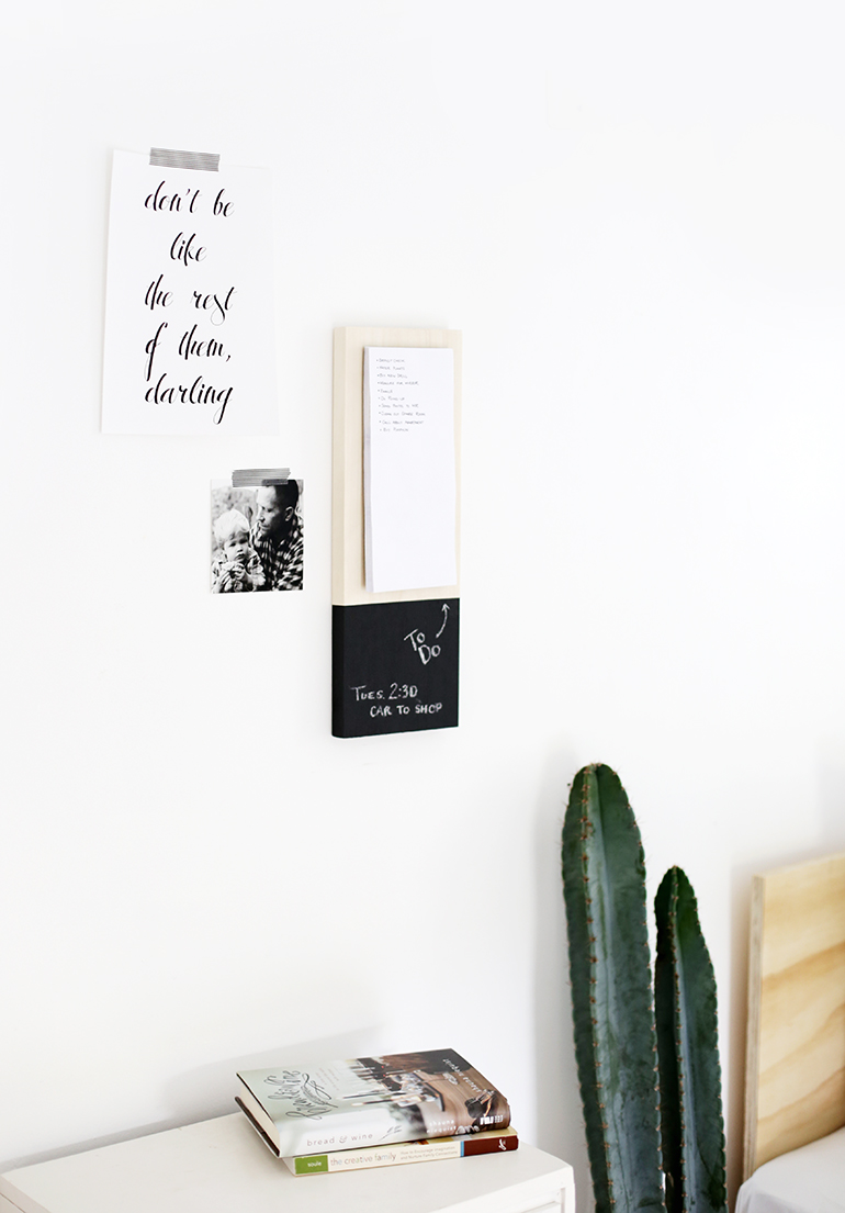Wall Notepad @themerrythought