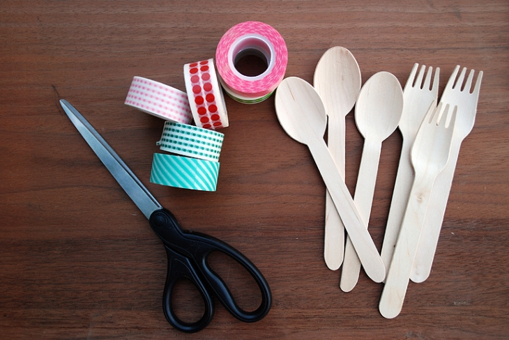 Washi Tape Cutlery | The Merrythought