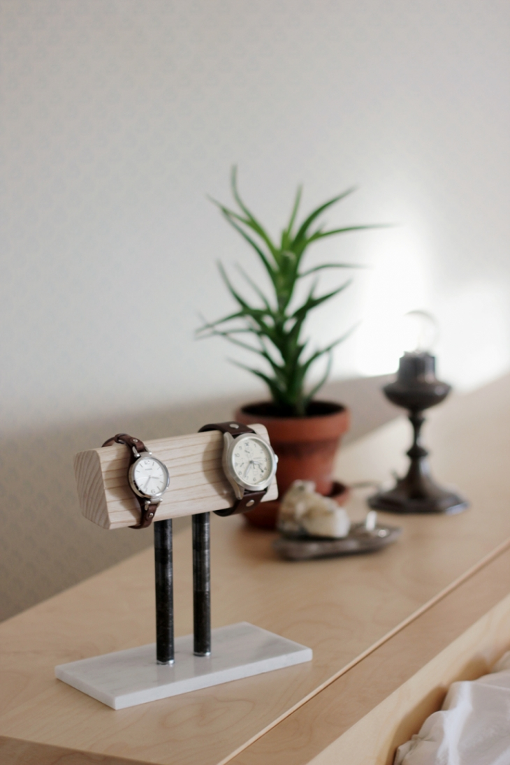 DIY Watch Stand @themerrythought