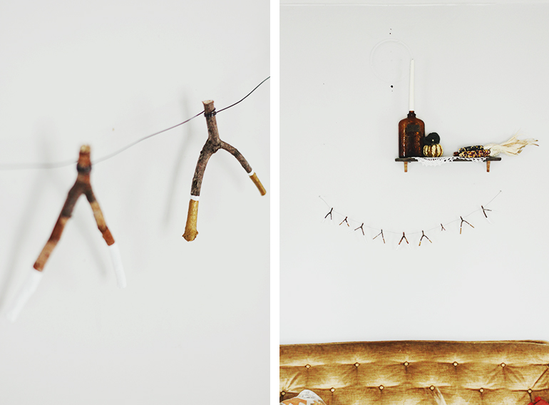 DIY Wishbone Garland @themerrythought