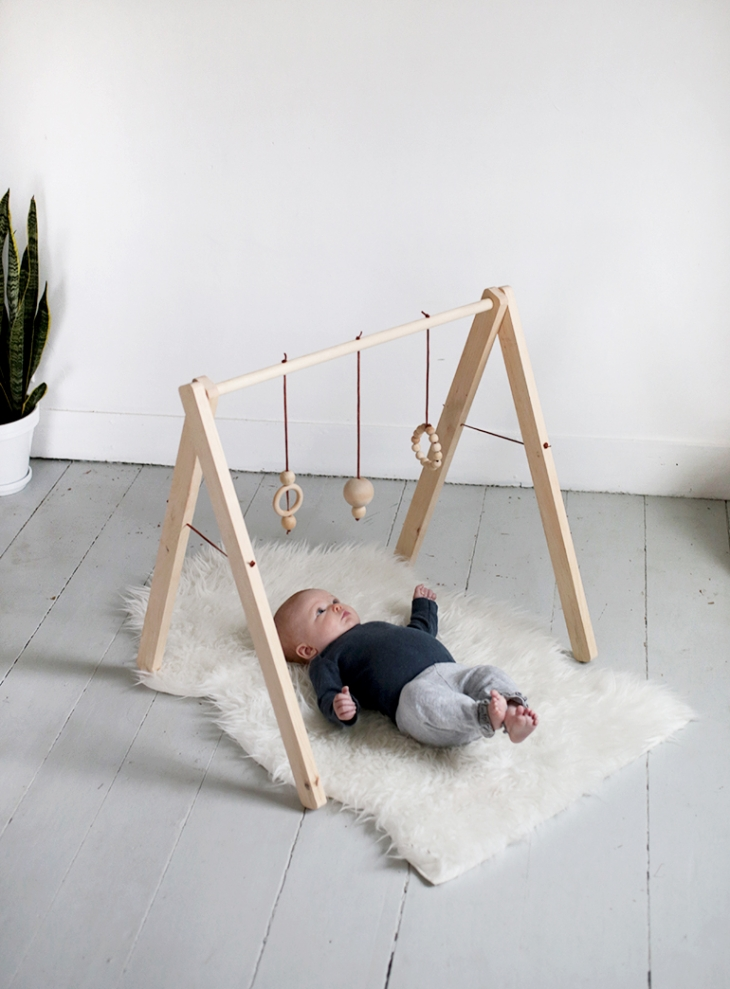 DIY Wooden Baby Gym » The Merrythought