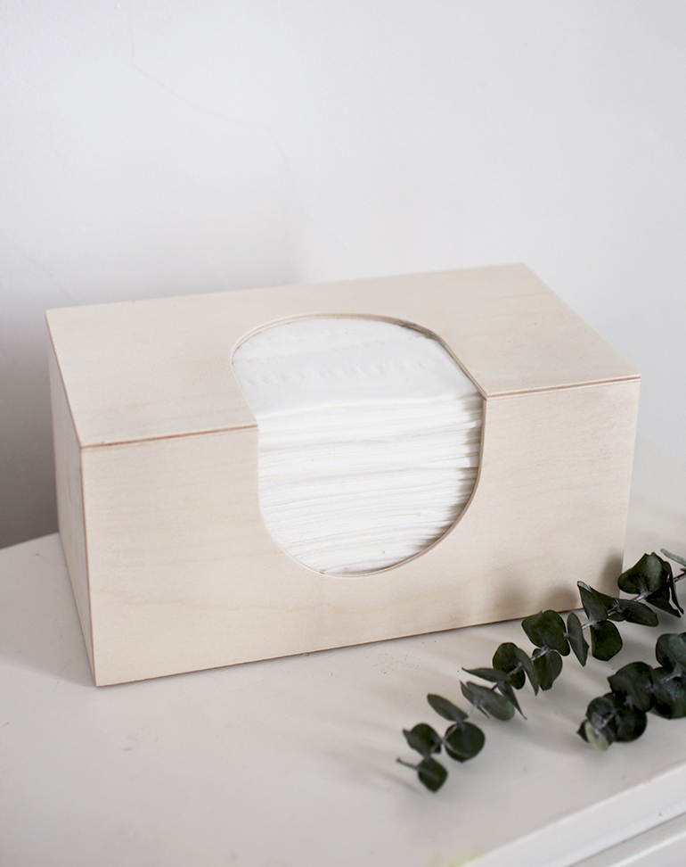 Diy Wooden Tissue Box Cover Themerrythought