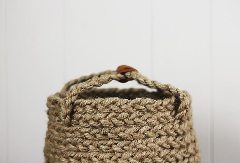 Basket Making Jute : Diy braided jute basket ? the merrythought