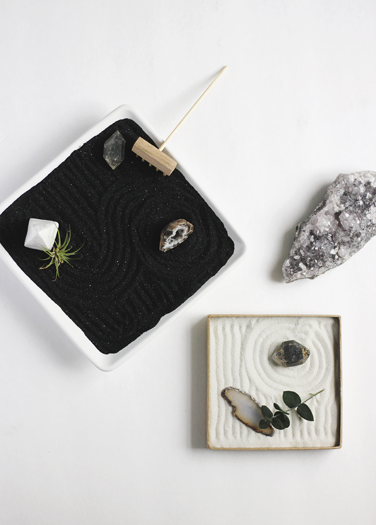 Diy Mini Zen Garden The Merrythought