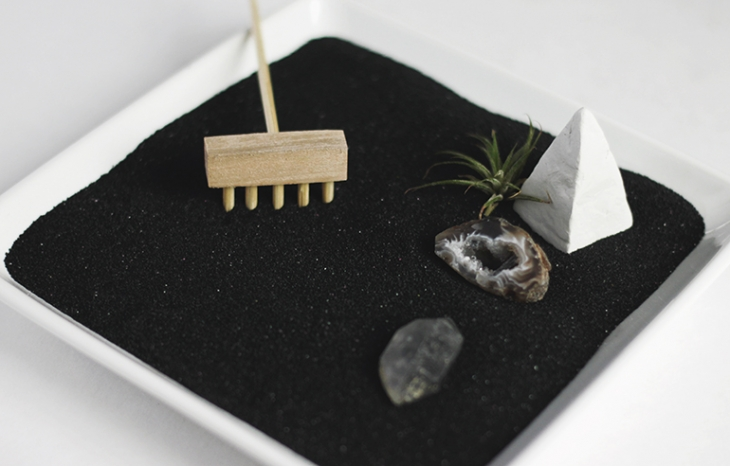 DIY Zen Garden @themerrythought
