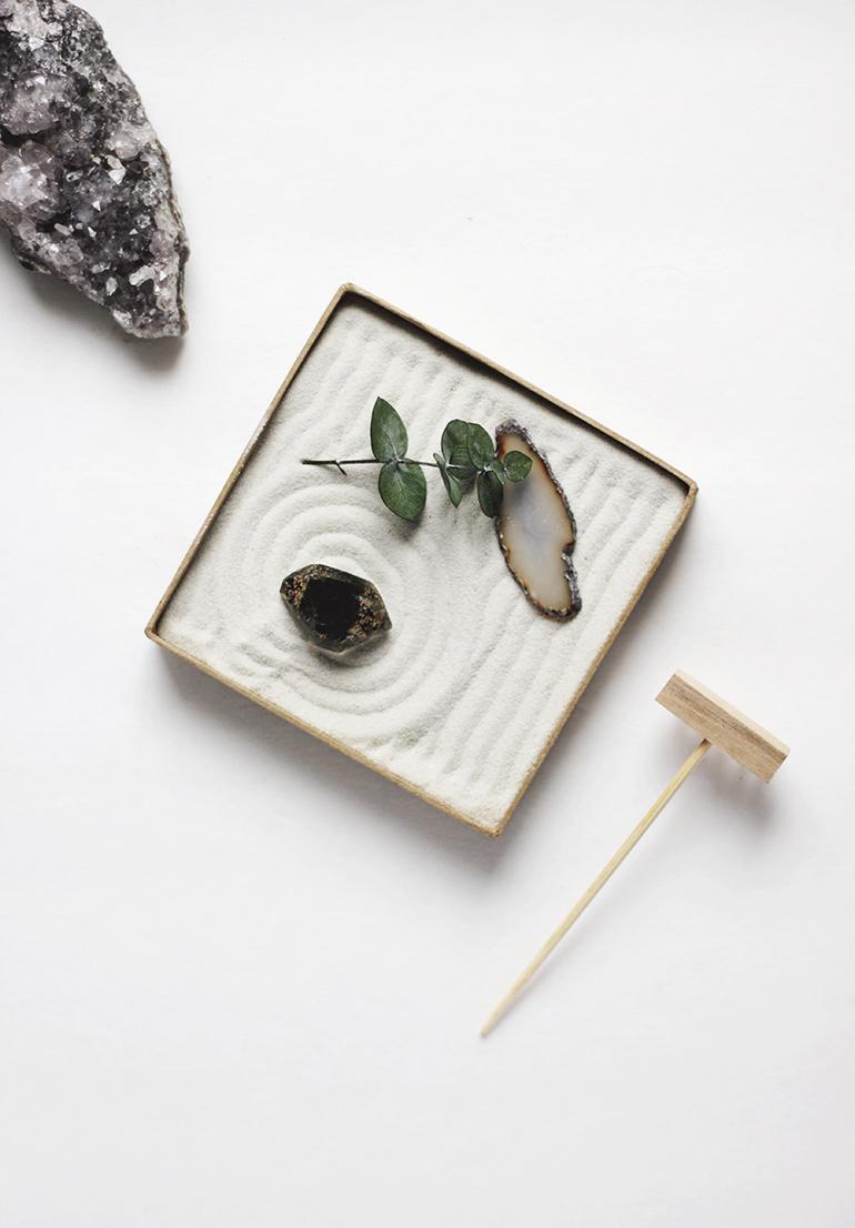 Diy Mini Zen Garden The Merrythought
