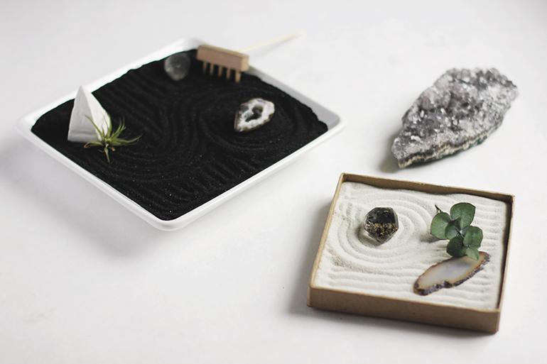 DIY Mini Zen Garden - The Merrythought