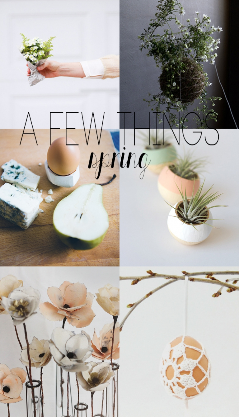 A Few Things: Spring @themerrythought