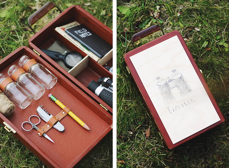 DIY Explorer Activity Kit @themerrythought