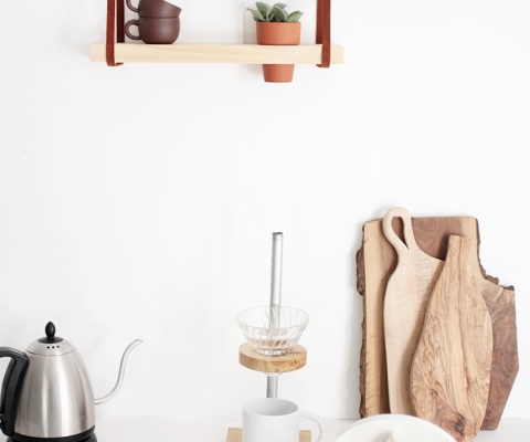 DIY Coffee Filter Stand @themerrythought