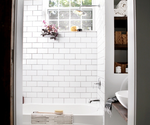 Bathroom Reveal @themerrythought