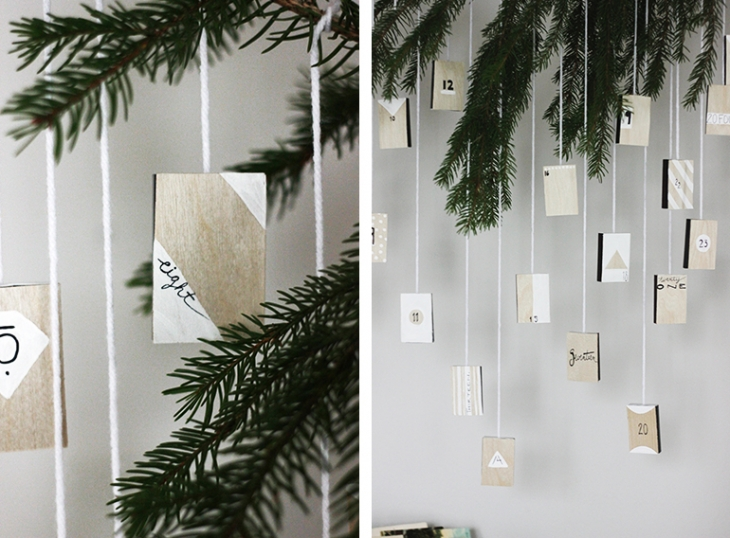 DIY Advent Calendar @themerrythought