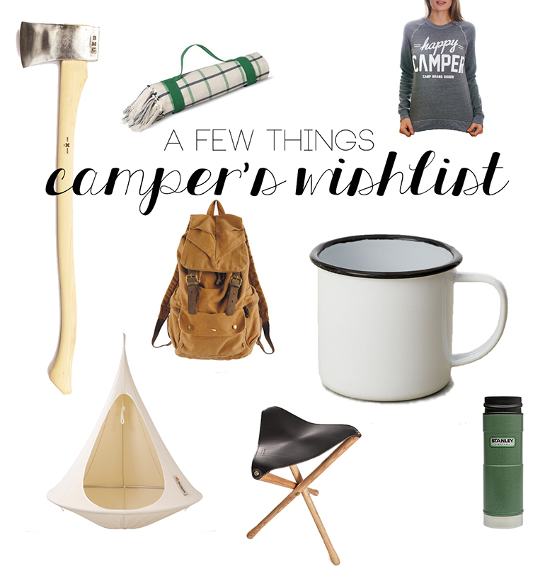 A Few Things Camper S Wishlist The Merrythought