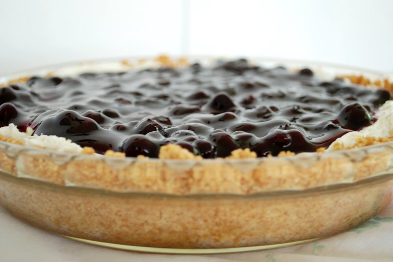 no bake blueberry cheesecake with graham cracker crust capitol no bake ...