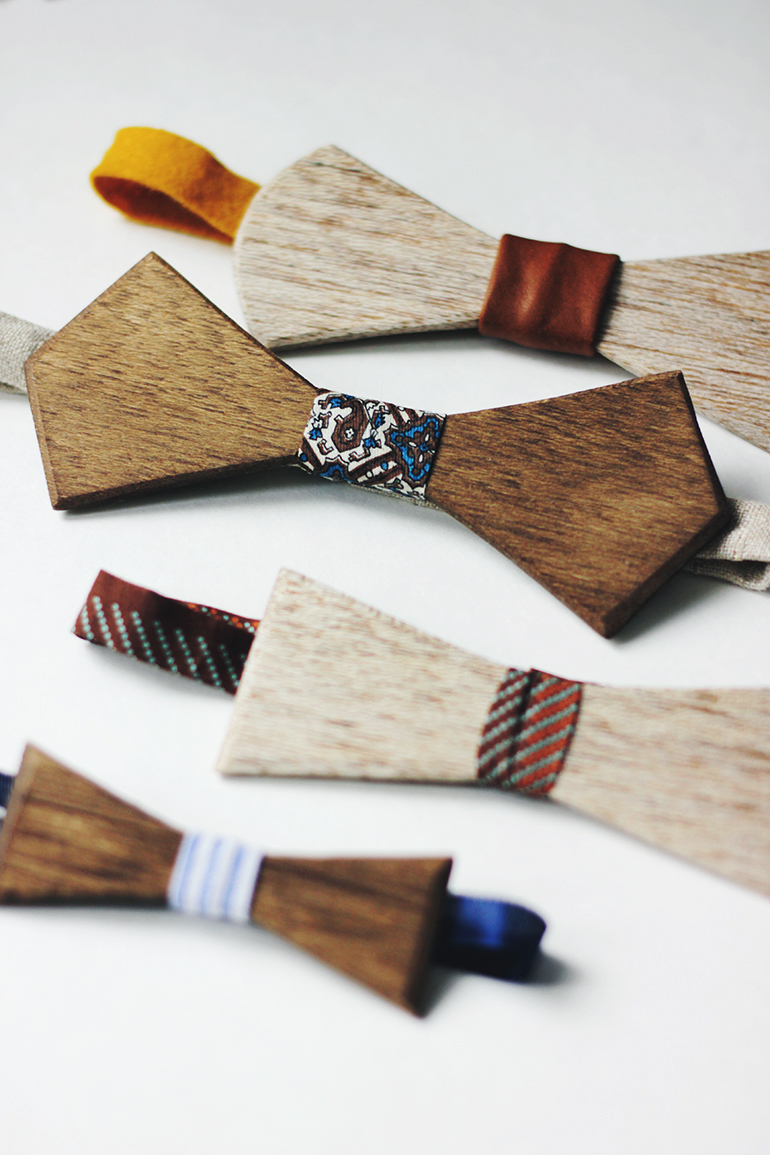 DIY Wooden Bow Tie » The Merrythought