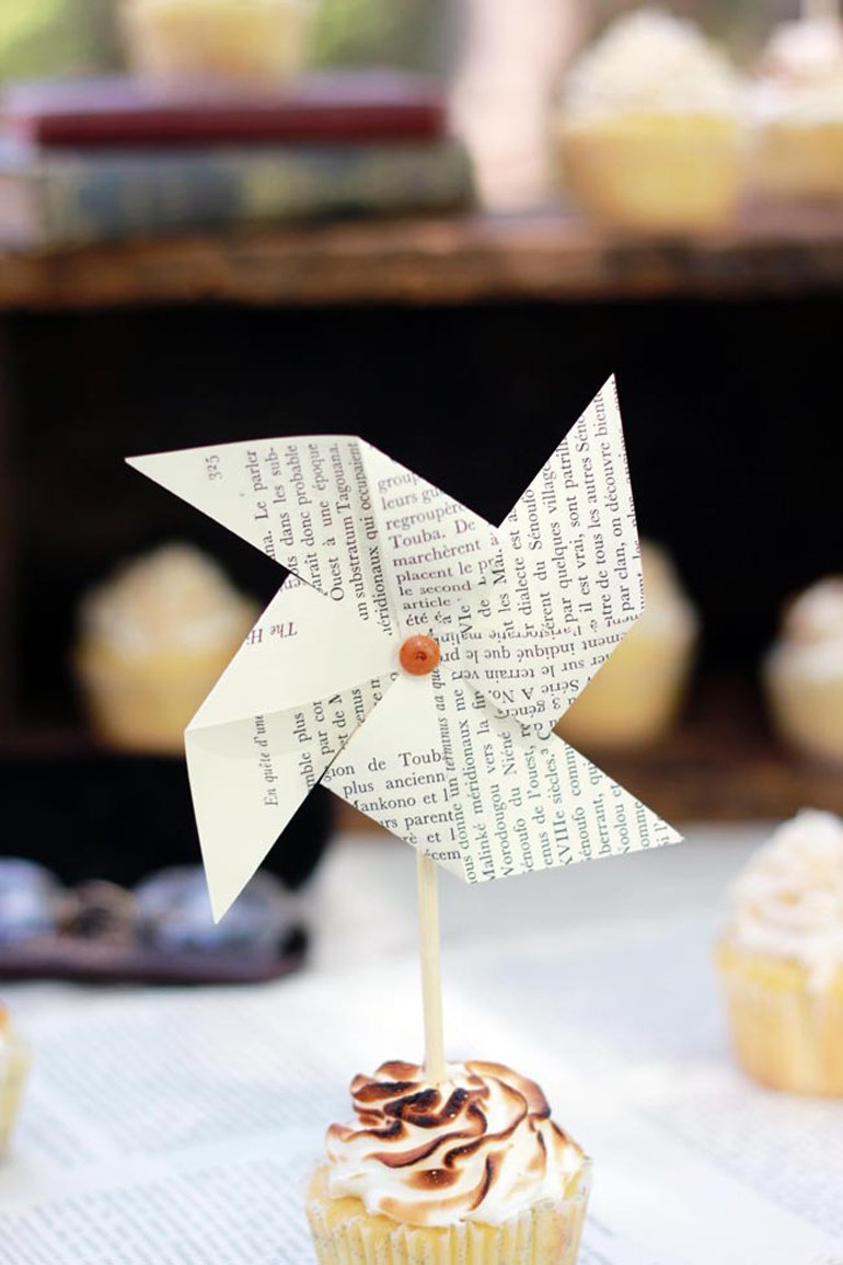 Vintage Book Theme Baby Shower - The Merrythought