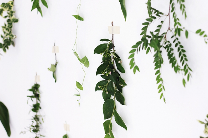 Foliage Wall @themerrythought