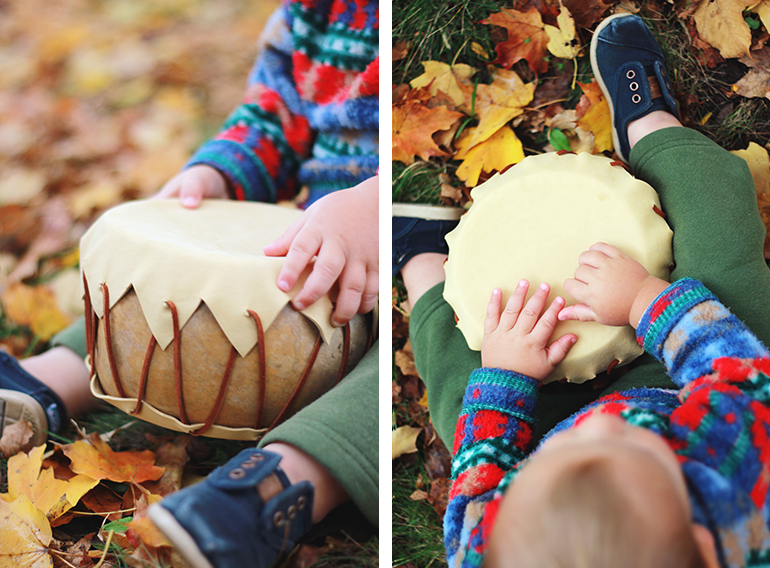 DIY Gourd Drum | The Merrythought