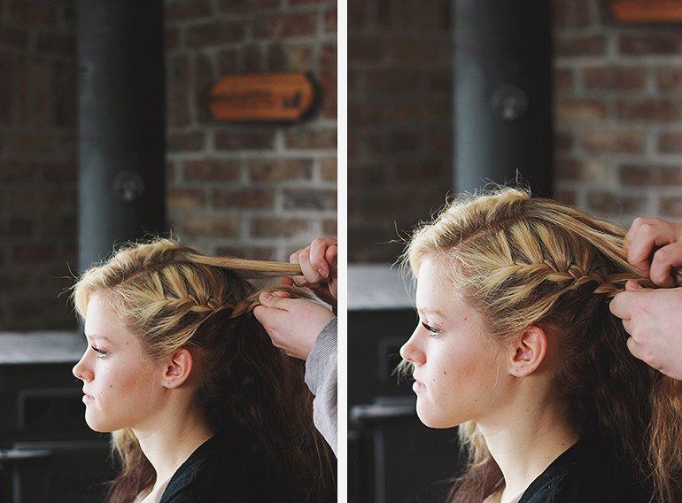 прически на отросшие волосы фото