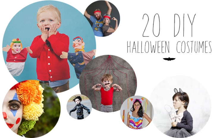 20 Homemade Halloween Costumes | The Merrythought