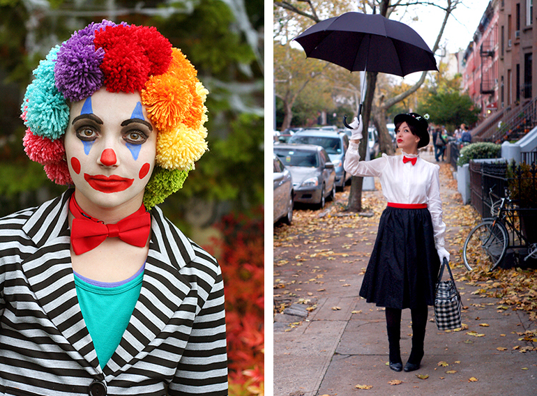 20 Homemade Halloween Costumes | The Merrythought Pompom Clown.  sc 1 st  The Merrythought & 20 Handmade Halloween Costumes - The Merrythought