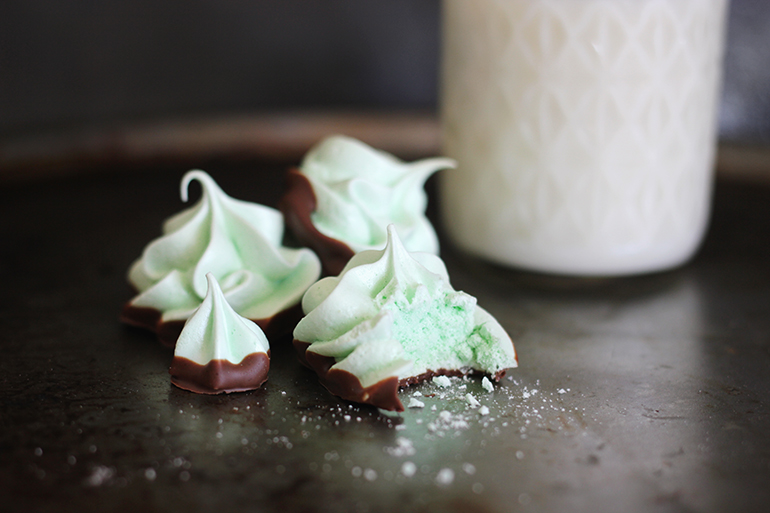 Mint Chocolate Meringue @themerrythought