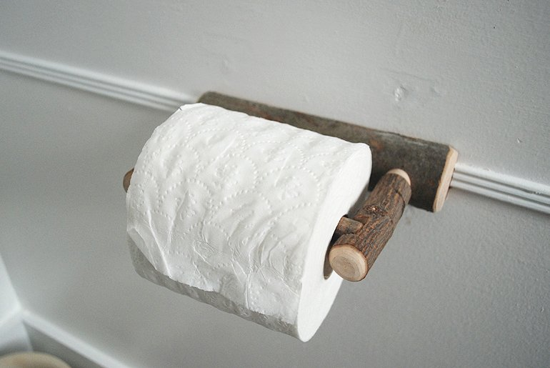rustic toilet paper holder merry home tour the merrythought 911